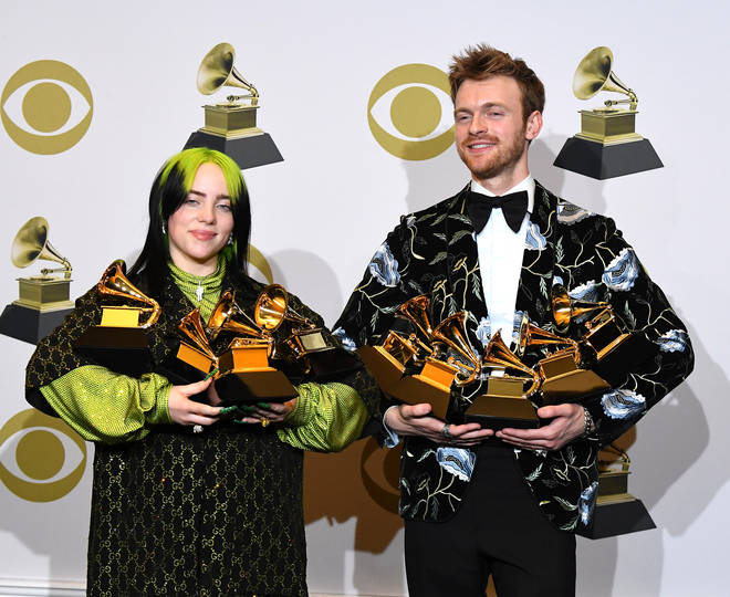 Finneas O'Connell and Billie Eilish are the only producers of her hit debut album