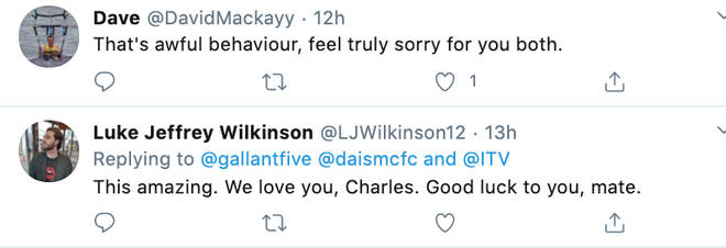 An outpouring of sympathy for the Ingham's on Twitter after 'Quiz' airs