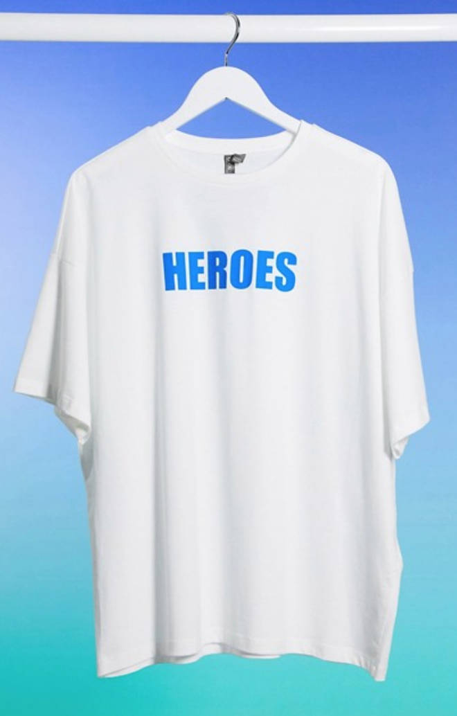 ASOS' 'heroes' garments are selling out fast