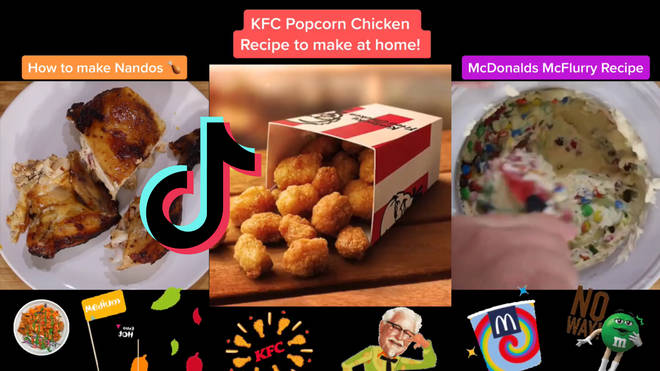 These TikTok tutorials show you how to make fast-food at home