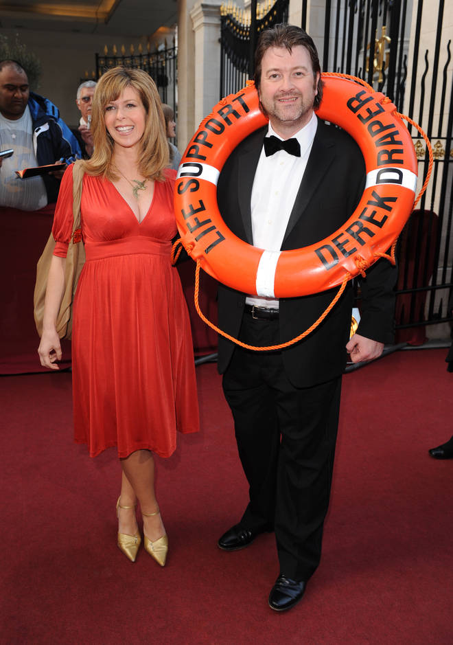 Kate Garraway and husband Derek have two young children