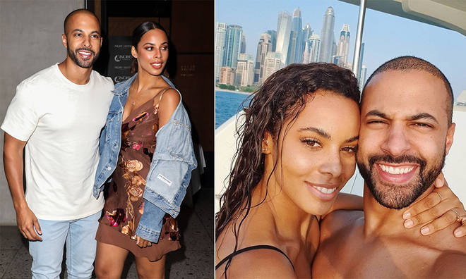 Marvin and Rochelle Humes have shared a competition for engaged couples in the UK