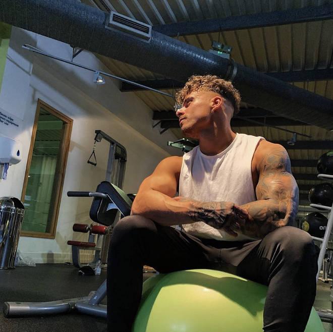 Kori Sampson takes regular trips to workout
