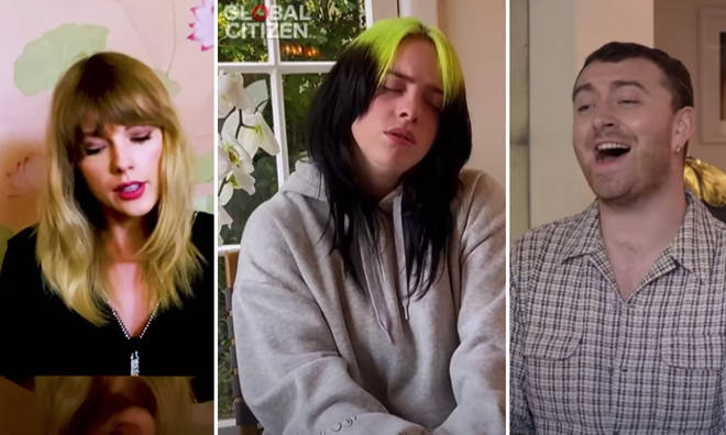 Pop stars showed us inside their houses during One World: Together at Home
