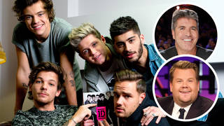 Simon Cowell and James Corden 'battling' to host One Direction reunion