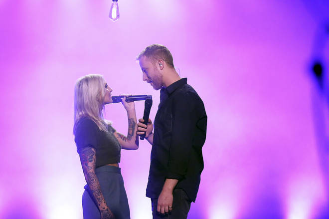 JP Saxe and Julia Michaels previously performed their song on The Tonight Show Starring Jimmy Fallon