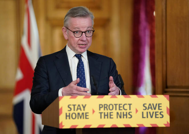 Michael Gove said pubs would be among the last to reopen