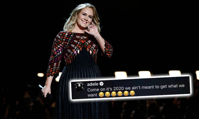 Adele was due to make her return to music later this year