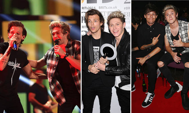 Niall Horan and Louis Tomlinson are often publicly supporting each other