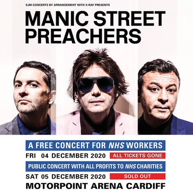 Manic Street Preachers are hosting two special gigs