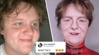 Make-up transforms girl into Lewis Capaldi and the singer can't believe it