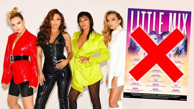 Little Mix cancel their UK summer tour