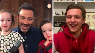 Tom Holland surprised Jimmy Kimmel's son on his third birthday