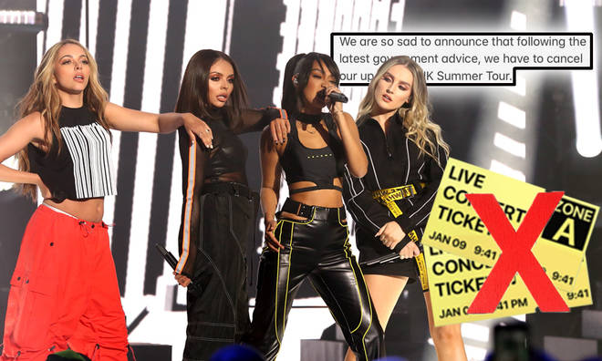 Little Mix have cancelled their 2020 summer tour