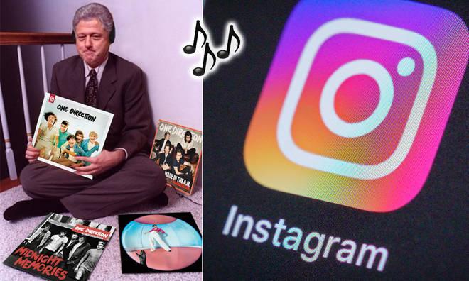 The Bill Clinton vinyl trend has gone viral