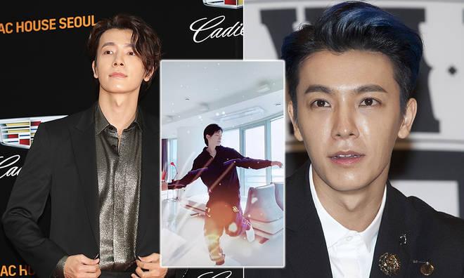 K-Pop fans have been praising Lee Donghae for his Toosie Slide TikTok clip