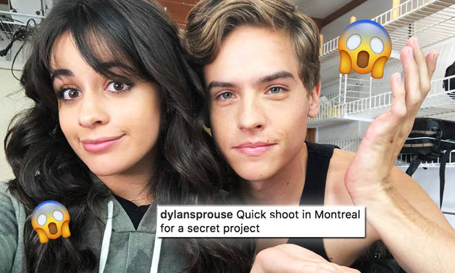 Camila Cabello & Dylan Sprouse Working On Secret Project