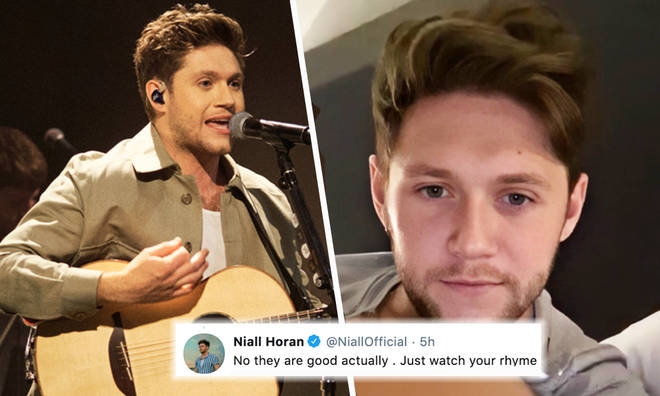 Niall Horan helps song writing fan out on Twitter