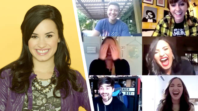 Demi Lovato jokes about time in rehab during Sonny with a Chance reunion
