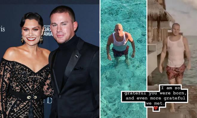 Jessie J wished Channing Tatum a Happy Birthday