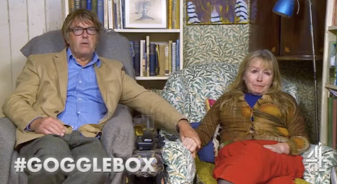 Giles and Mary are both in the creative industry