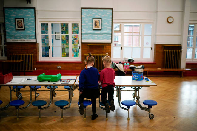 Some schools remain open for children of key workers