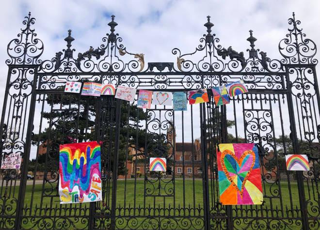 School gates remain shut amid the coronavirus pandemic
