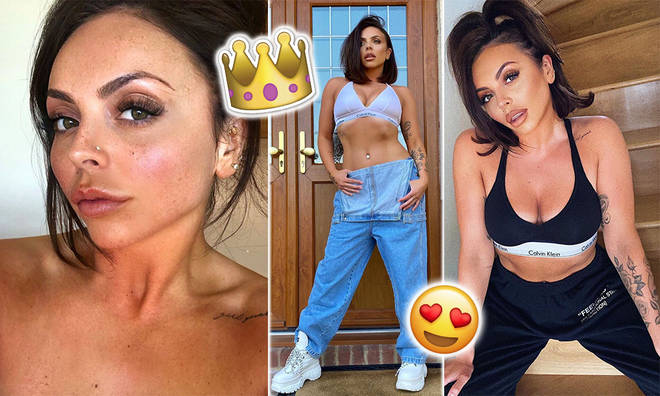 Little Mix singer Jesy Nelson is slaying Instagram in quarantine