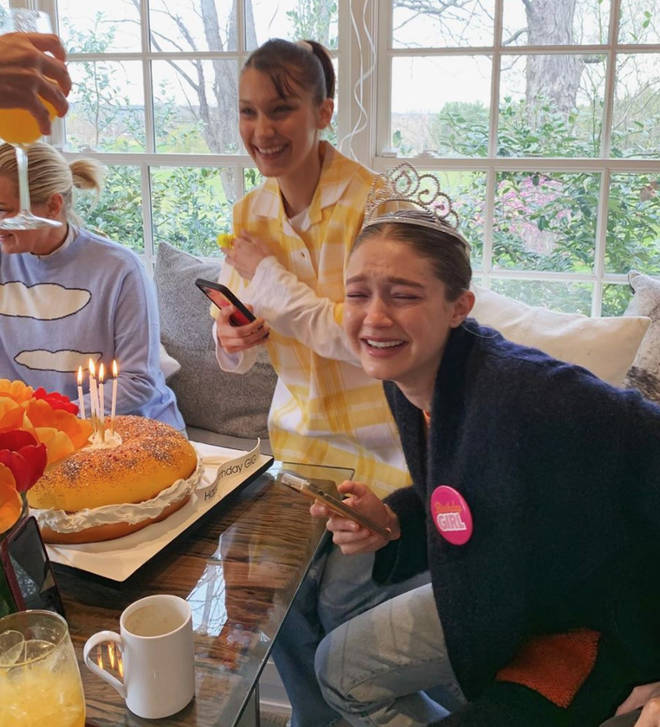 Gigi Hadid said she'll 'remember her 25th birthday forever'