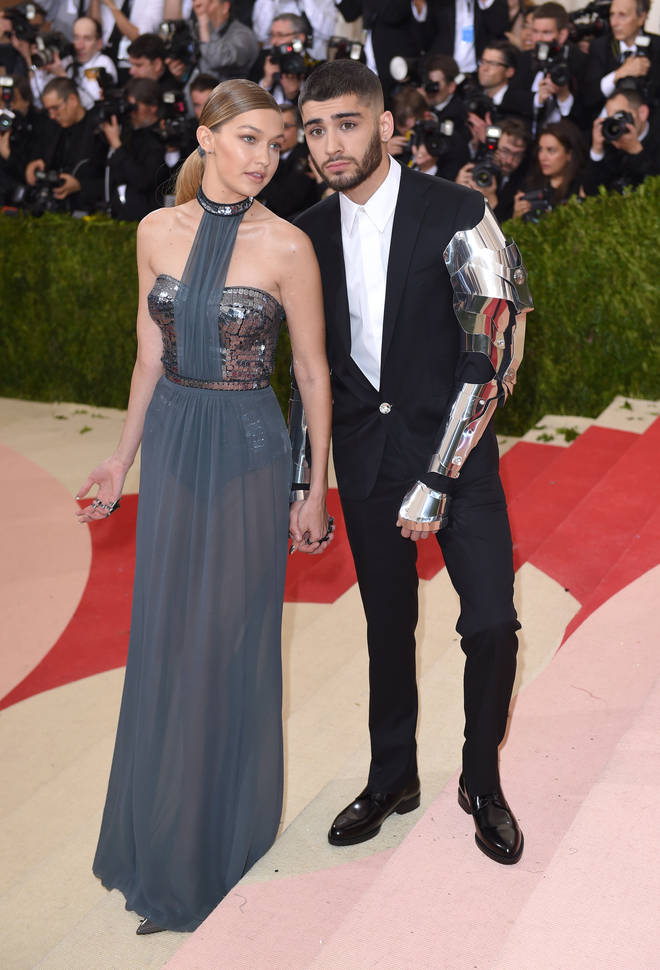 Gigi Hadid and Zayn Malik's red carpet debut at the MET Gala 2016