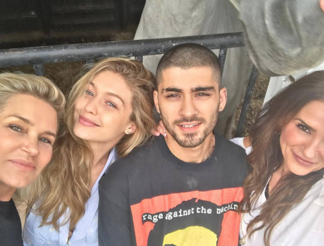 Zayn Malik and Gigi Hadid's families are thought to be close