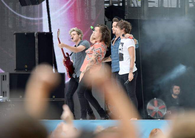One Direction were rumoured to be reuniting this year