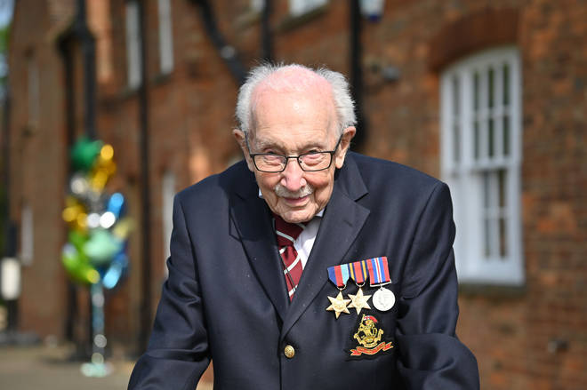 Colonel Tom Moore raised £29 million for the NHS