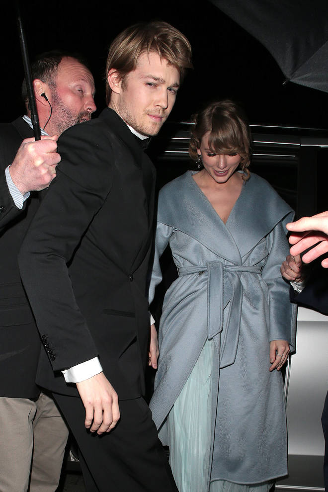 Taylor Swift and boyfriend Joe Alwyn are in quarantine together