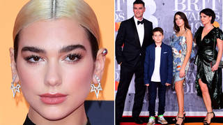 Dua Lipa's family have attended events such as The BRITs with her.