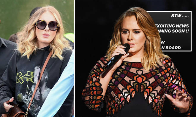 Adele's makeup artist teased her return