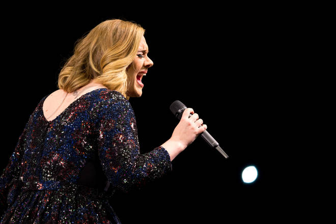 Adele stopped touring in 2017