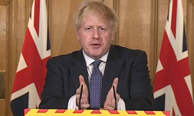 Boris Johnson made the comments at the Downing Street conference.