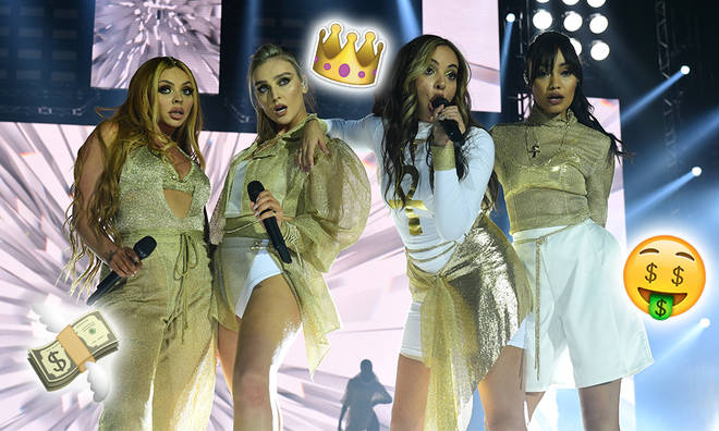 Little Mix have been paid millions of pounds from touring