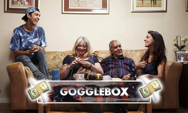 Gogglebox families split their earnings between themselves