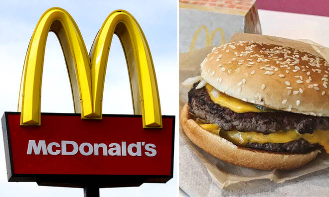 McDonald's will reopen 15 stores, with a limited menu, for delivery only.