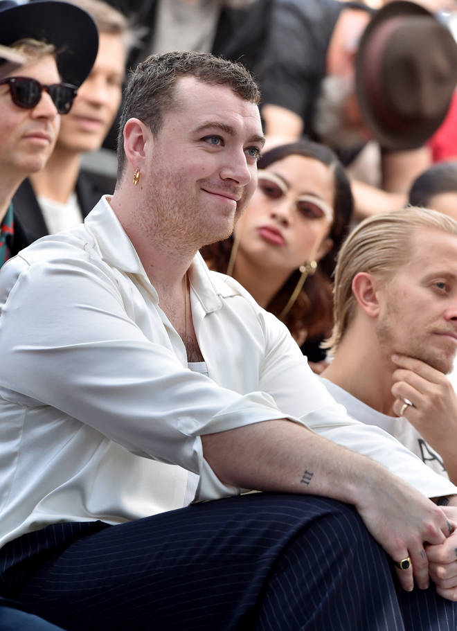 Sam Smith said they're 'ready to fall in love'