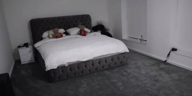 Molly-Mae showed fans inside their bedroom