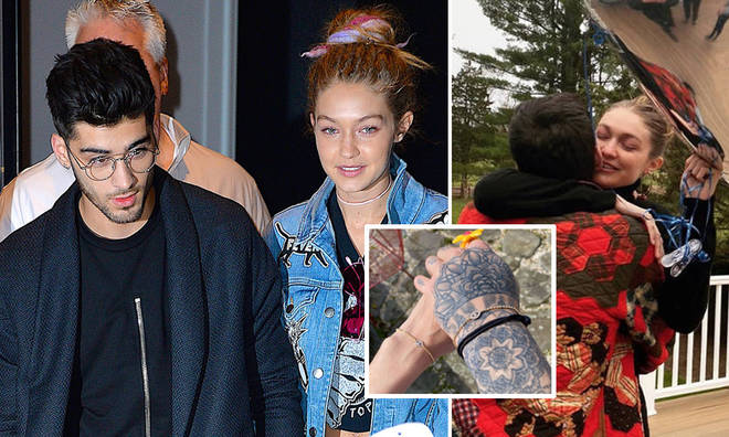Zayn Malik and Gigi Hadid have matching bracelets