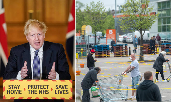 Boris Johnson will be giving an update on the plans to ease the lockdown measures