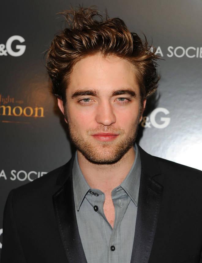 Robert Pattinson at the premier of The Twilight Saga: New Moon in 2009