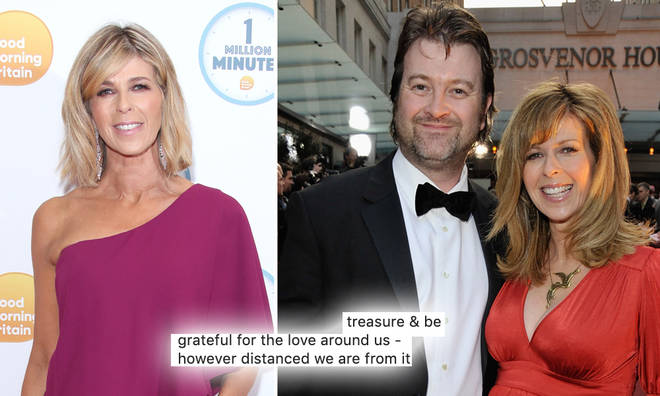 Kate Garraway spent her birthday without her husband as he continues to battle coronavirus