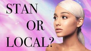 Ariana Grande 'Stan Or Local' Quiz