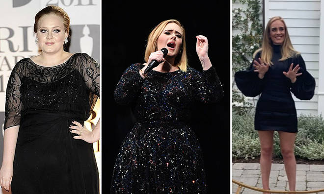 Adele has transformed her image over the years