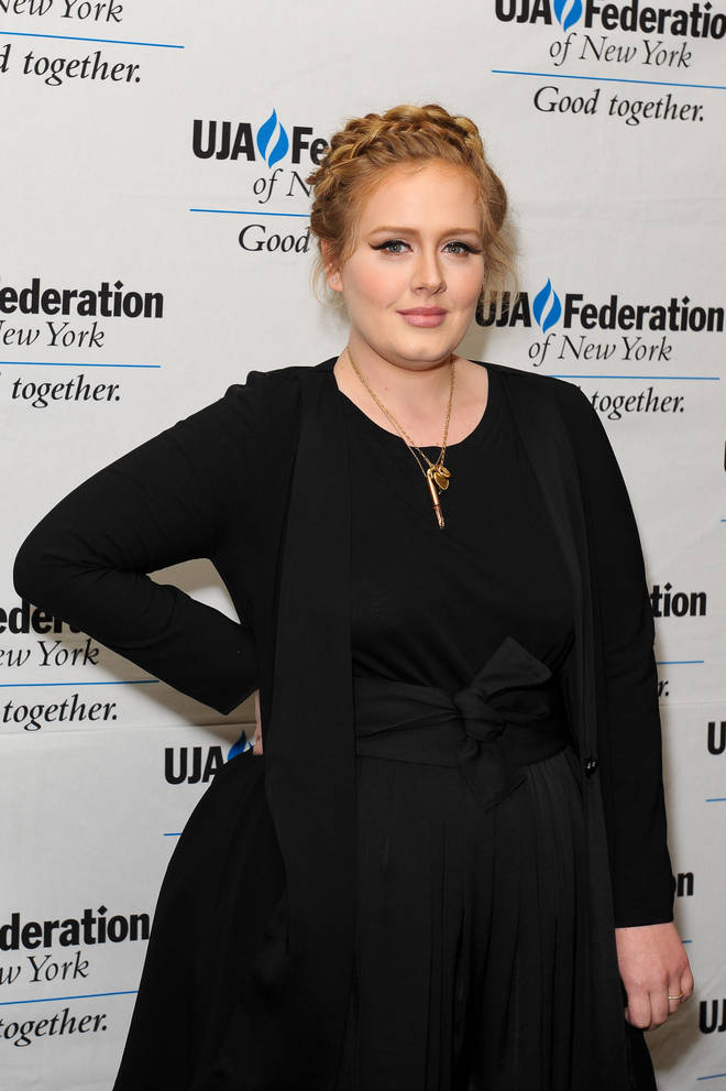 Winged eyeliner has long been Adele's beauty trademark